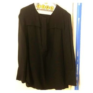 J. Crew Black Blouse